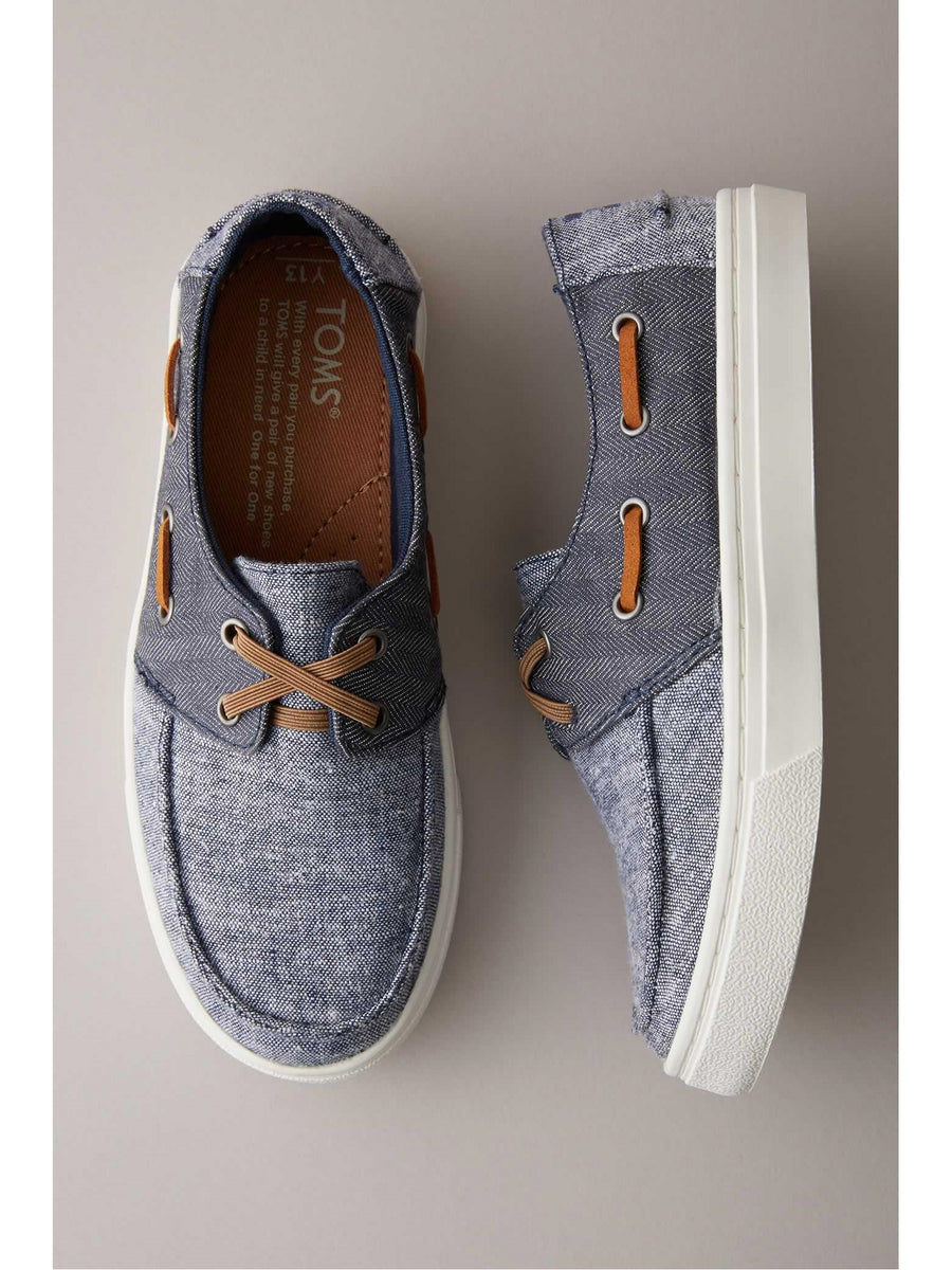 Kids TOMS® Culver Boat Shoes