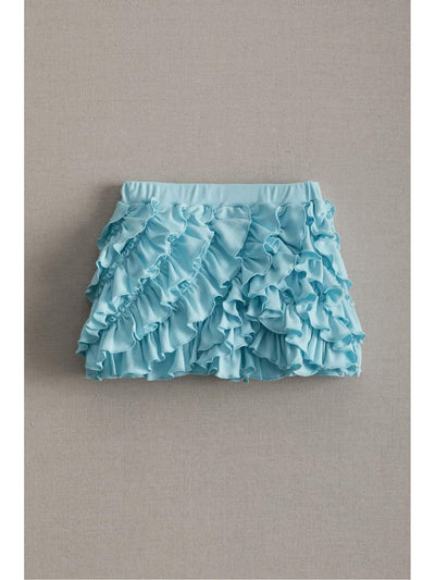 Lemon Loves Lime Girls Ring-around-the-ruffle Shorts
