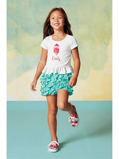 Lemon Loves Lime Girls Ring-around-the-ruffle Shorts  aic alt1