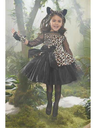 Leopard Costume for Girls  bro alt1