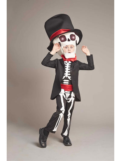 Light-Up Day of the Dead Costume For Boys