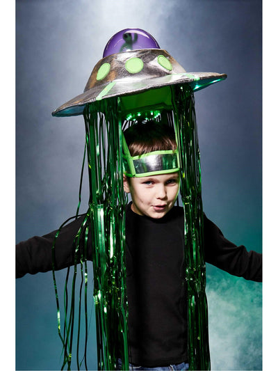 Light-up Flying Saucer Costume  gre alt1