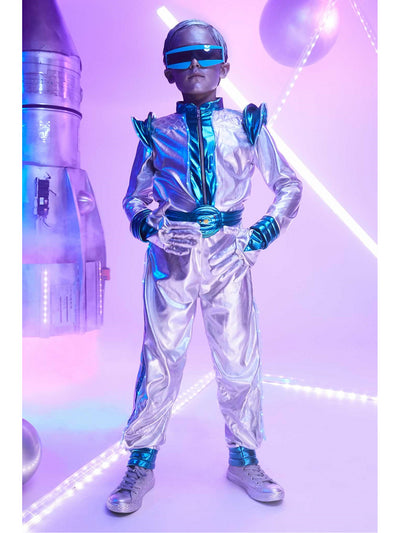 Light-Up Space Suit Costume for Boys