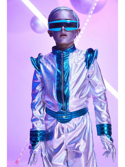 Light-Up Space Suit Costume for Boys  sil alt1