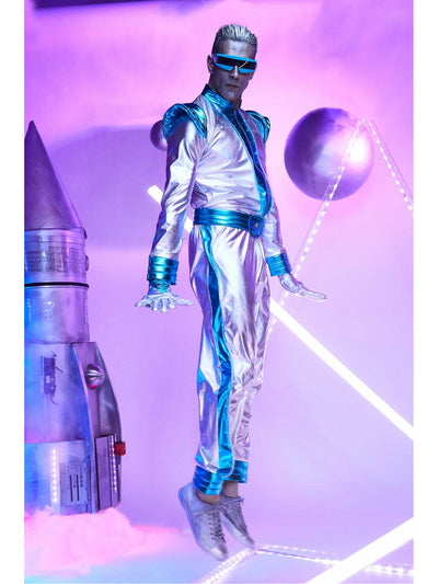 Light-Up Space Suit Costume for Men