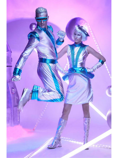 Light-up Space Costume for Women  sil alt1