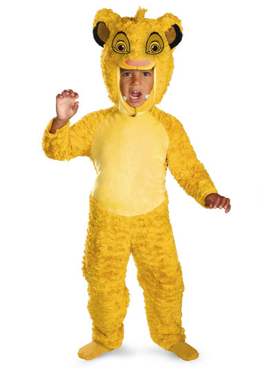 Lion King Simba Deluxe Costume for Kids