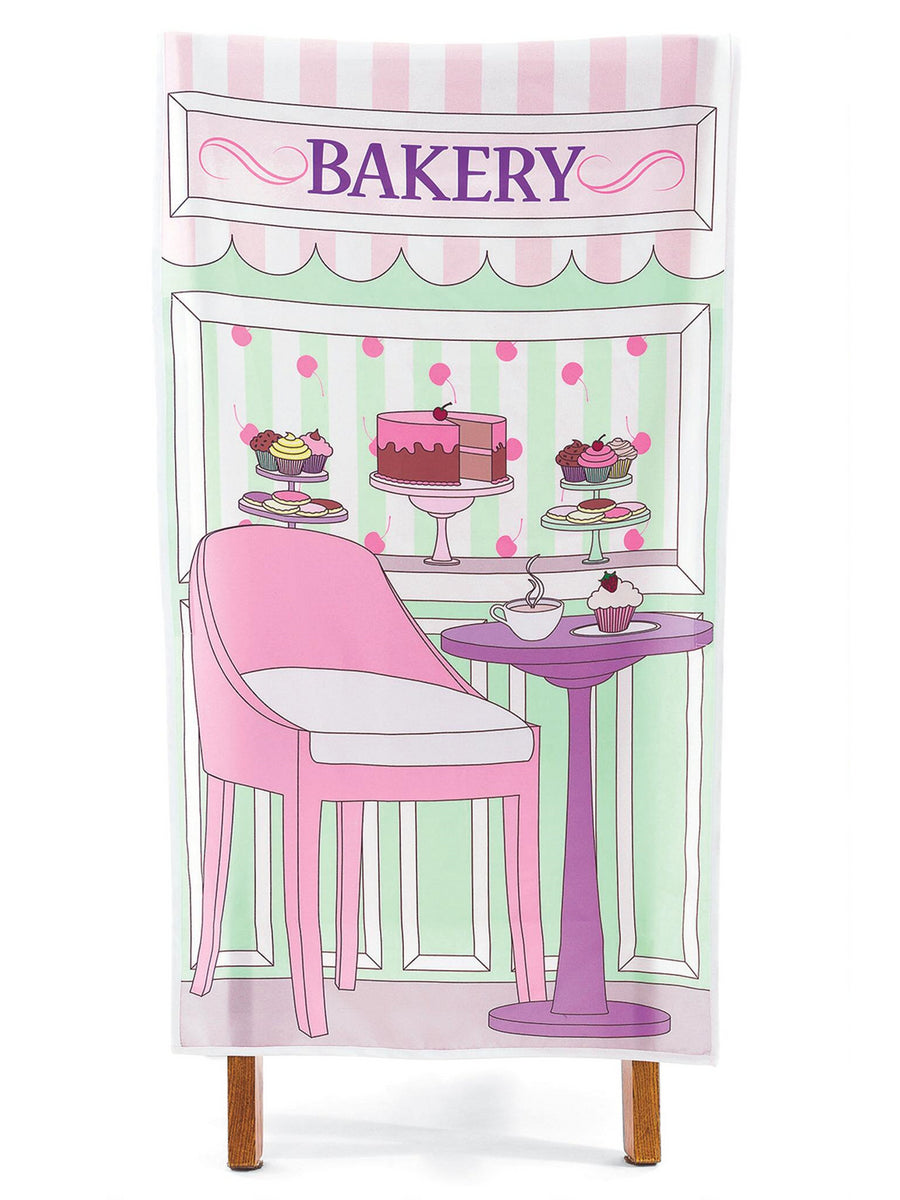 Little Bakery Shop Chair Cover