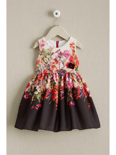 Little Girls Zoe Bouquet Dress