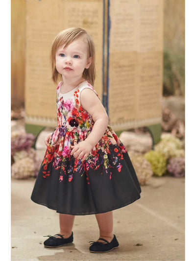 Little Girls Zoe Bouquet Dress  pur alt1