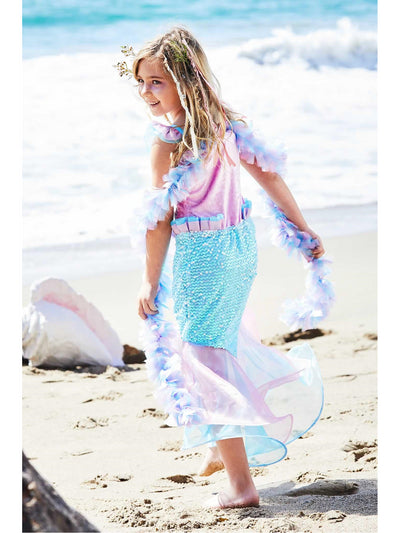 Magical Mermaid Costume for Girls  pin alt1