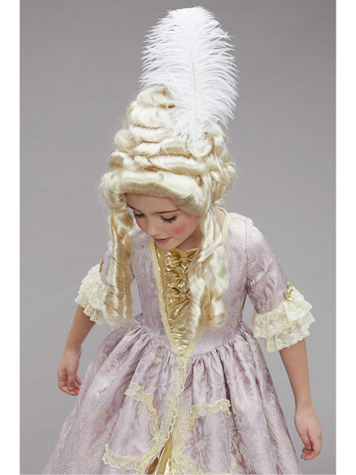 Marie Antoinette Costume for Girls  lav alt1
