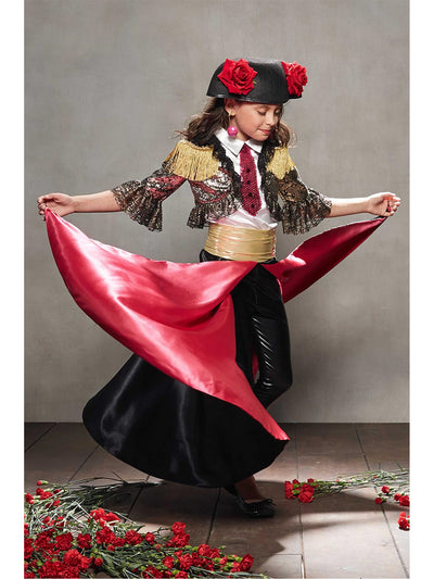 Matador Costume For Girls  mlt alt1