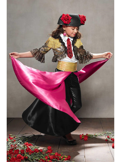 Matador Costume For Girls  mlt alt2