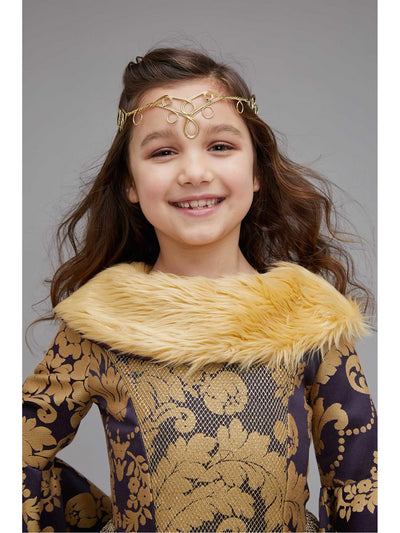 Medieval Princess Costume for Girls  pur alt2