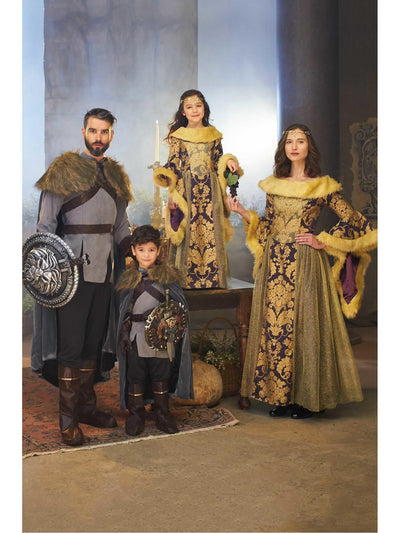 Medieval Queen Costume for Women  pur alt1