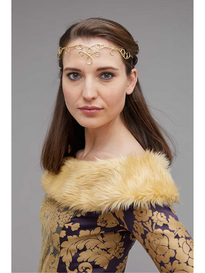 Medieval Queen Costume for Women  pur alt2