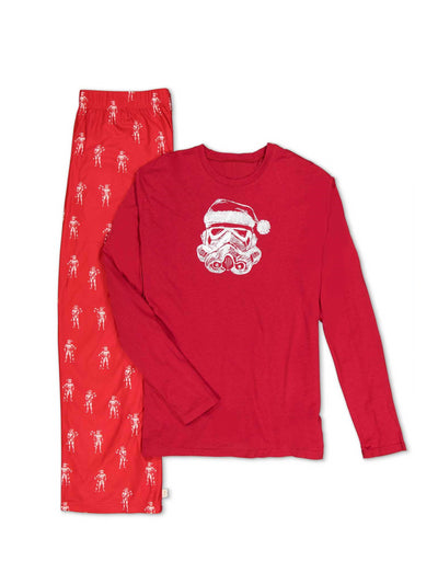 Mens Santa Storm Trooper PJ's