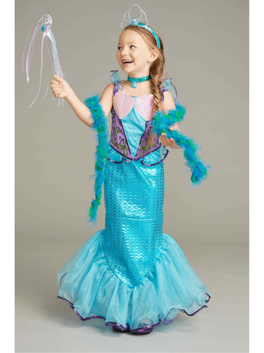 Mermaid Costume Play Set For Girls