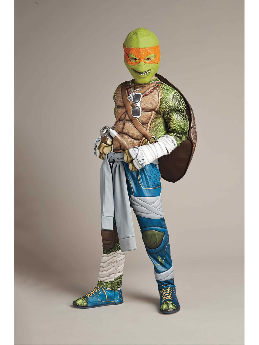Michelangelo Costume For Kids - Teenage Mutant Ninja Turtles