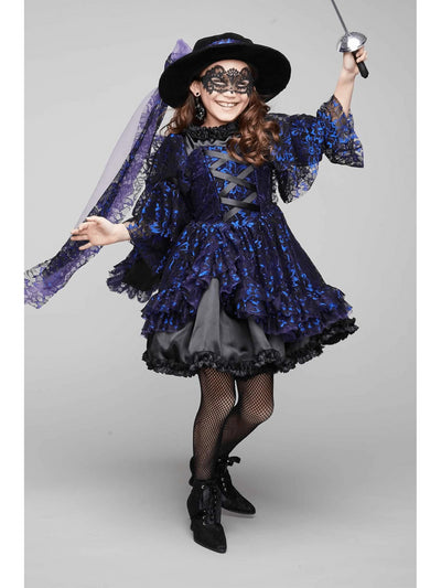 Midnight Bandida Costume For Girls