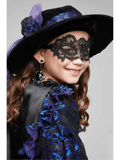 Midnight Bandida Costume For Girls  bla alt3