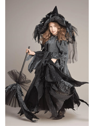 Midnight Witch Costume for Girls