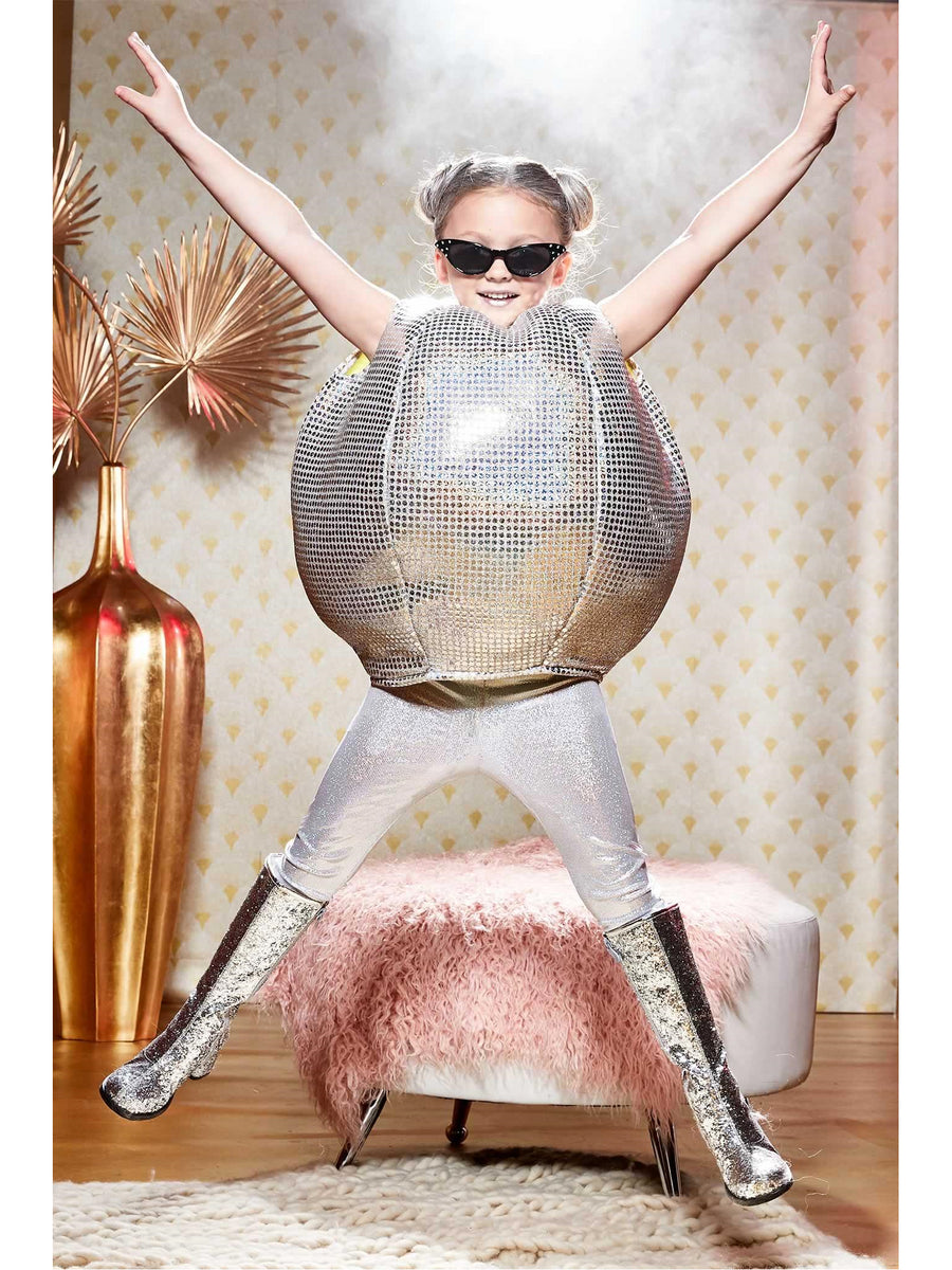 Mirror Disco Ball Costume for Girls
