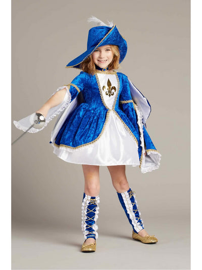 Miss Musketeer Costume For Girls