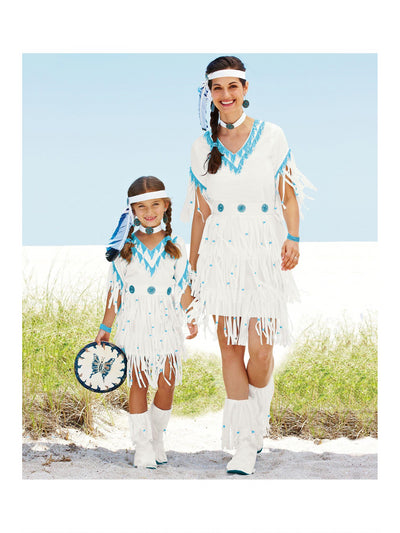 Native American Princess Costume For Women  whi alt1