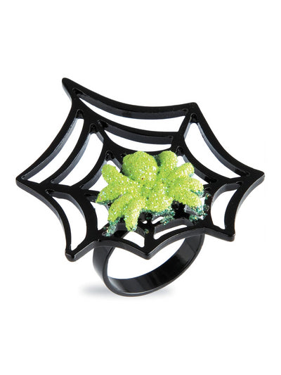 Neon Spider Ring  lim 1