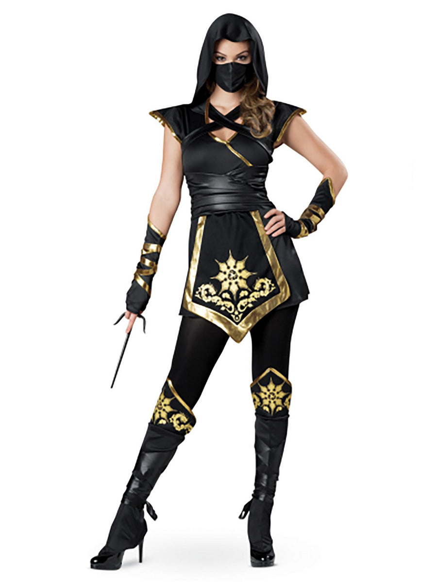 Ninja Lady Costume for Women