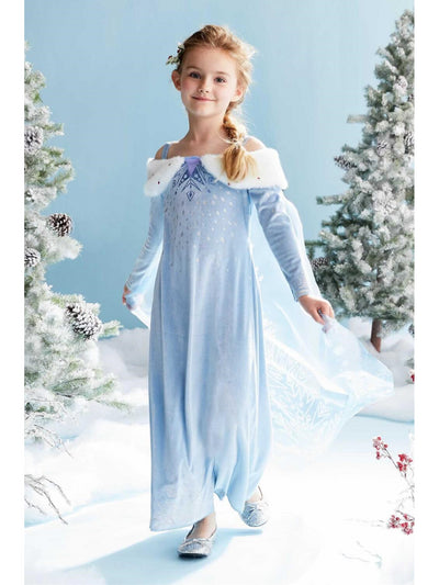 Olaf's Frozen Adventure Elsa Costume for Girls