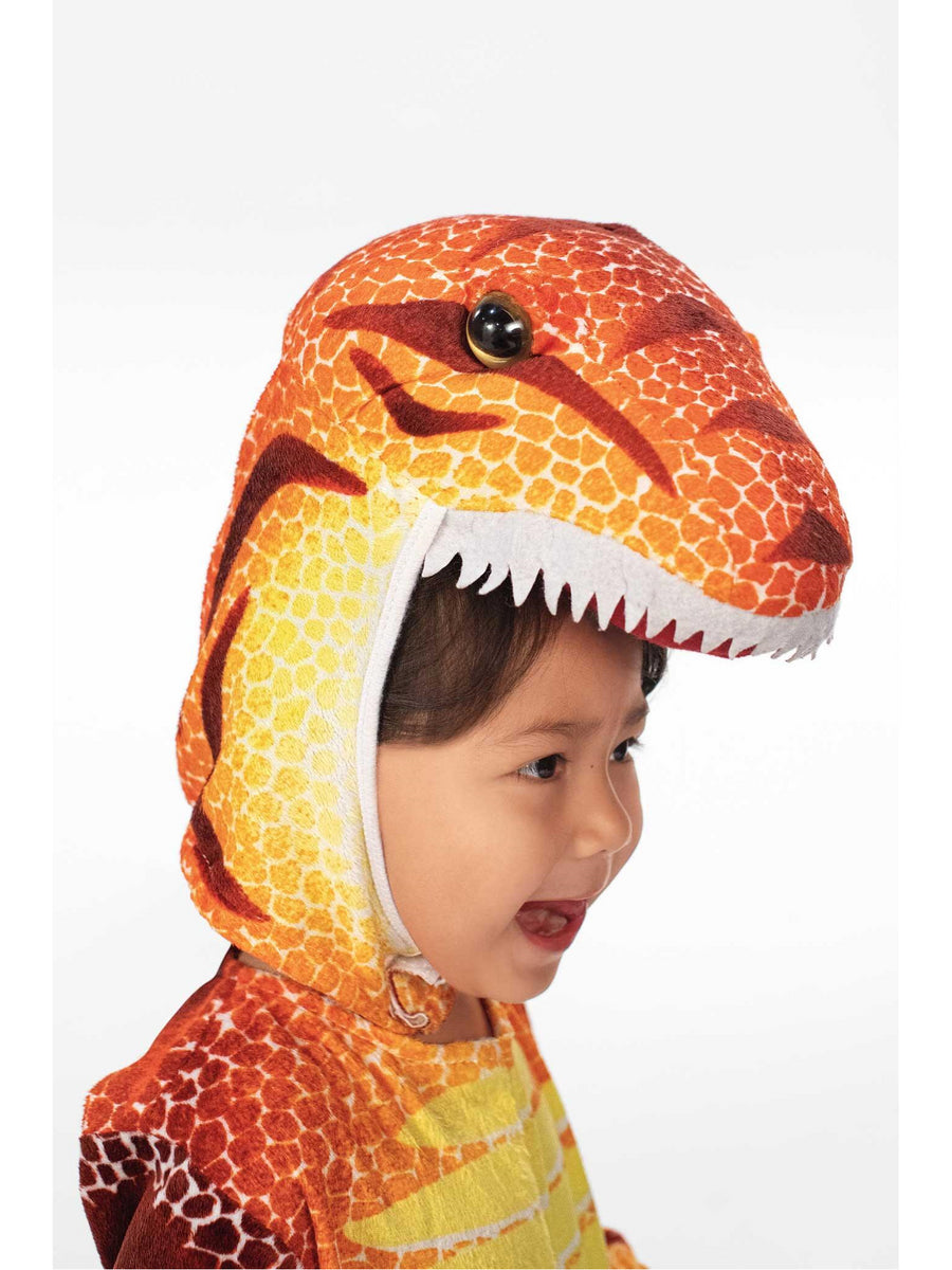 Orange Dino Costume for Kids