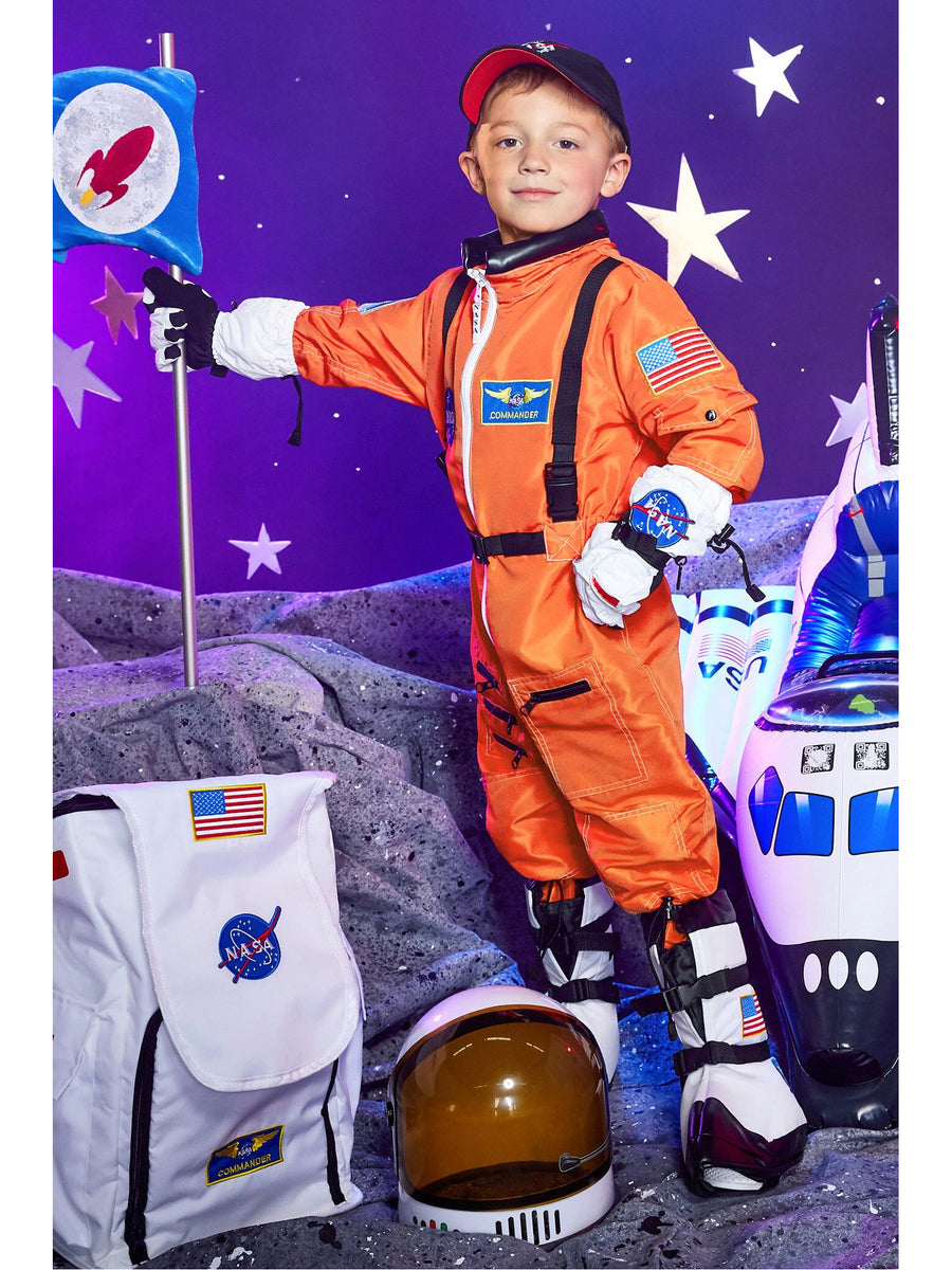 Orange Jr. Astronaut Suit for Kids
