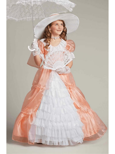 Peachy Southern Belle Costume for Girls