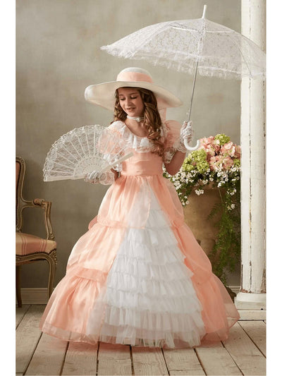 Peachy Southern Belle Costume for Girls  pea alt1