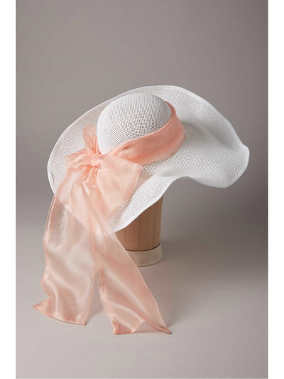 Peachy Southern Belle Hat