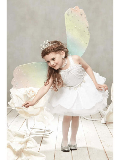 Pearl Fairy Costume For Girls  whi alt2