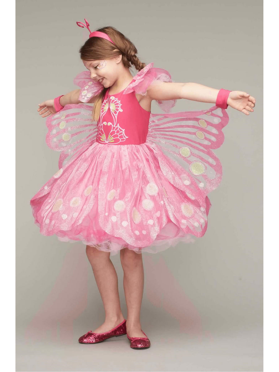 Pink Butterfly Costume For Girls