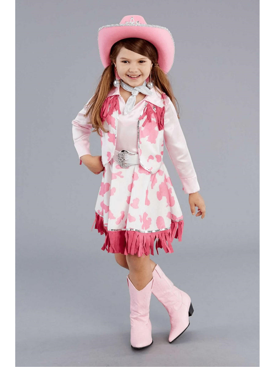 Pink Cowgirl Costume for Girls