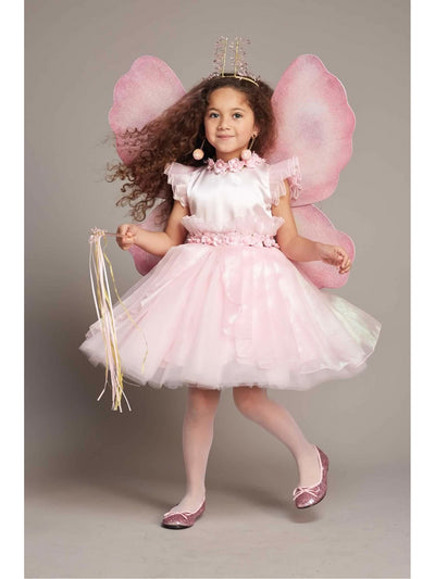 Pink Fairy Costume For Girls