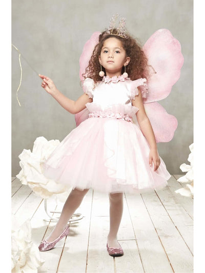 Pink Fairy Costume For Girls  pin alt1