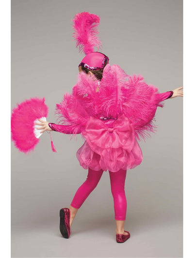 Pink Flamingo Costume for Girls  pin alt2