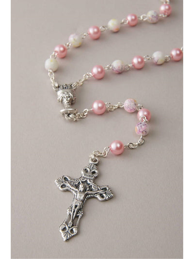 Pink Hearts Rosary  pin alt1