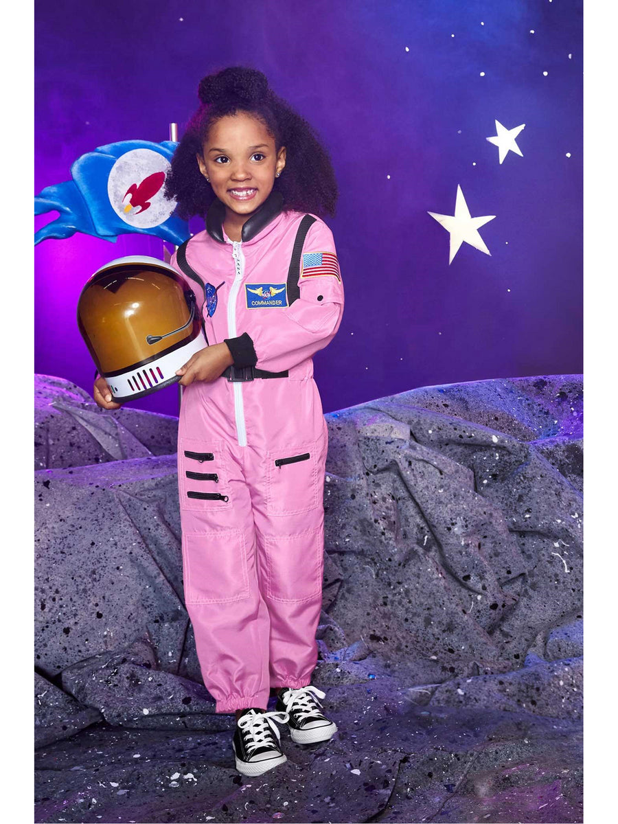 Pink Jr. Astronaut Suit Costume for Girls