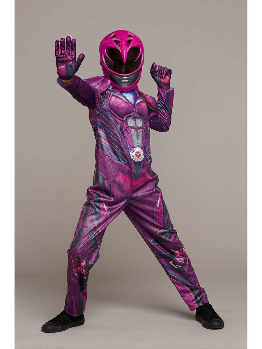 Pink Power Ranger Costume for Girls