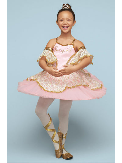 Pink Prima Ballerina Costume For Girls