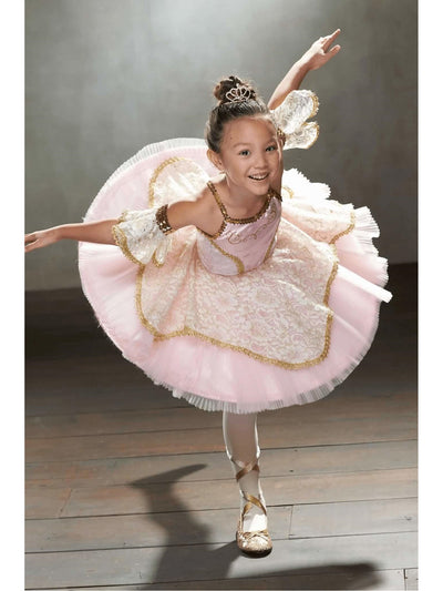 Pink Prima Ballerina Costume For Girls  pin alt2