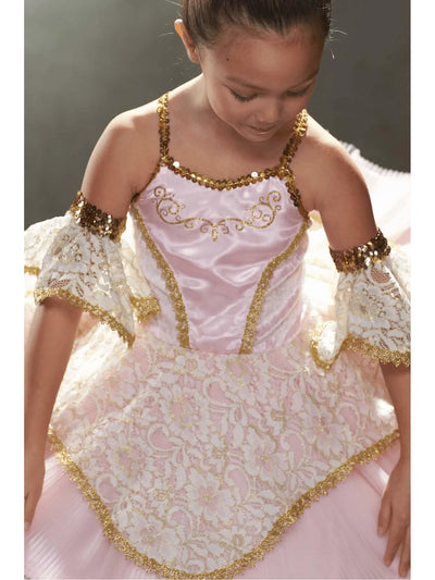 Pink Prima Ballerina Costume For Girls  pin alt3